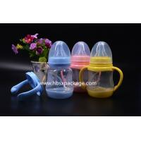 China Factory direct supply 42C temperature change color of baby bottle180ml 240ml 300ml factory
