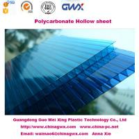 quality 6mm 100 virgin lexan multiwall polycarbonate hollow sheet for carport awning for sale