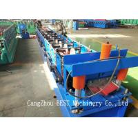 China Ridge Cap Cold Making Roll Forming Machine With PLC Control 380V50HZ on sale