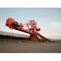 China Single / Double Cantilever Bucket Material Handling Machine Bucket Wheel Reclaimer factory