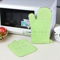 Buy cheap Promotional Customized Pattern Kitchen Cooking Oven Mitts And Pot Holders With Neoprene Oven Mitt from Wholesalers