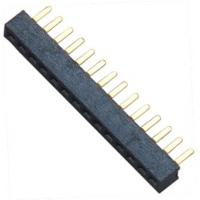 Buy cheap 15 pin Female Header Connector Single Row Straight DIP for Automobile from Wholesalers