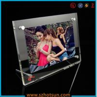 China acrylic photo strip frames/ acrylic photo frames 4x6 factory