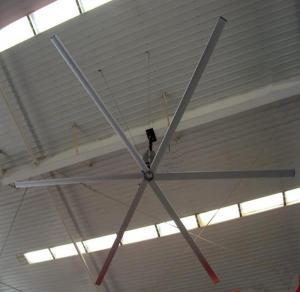 Buy cheap High Air Volume 6m diameter Workshop Ceiling Fans 14'' HVLS Large Aerodynamic Design from Wholesalers