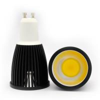 Buy cheap 3000k Alimunum 5W GU10 COB LED Spot light MR16 spot light 220v AC from Wholesalers