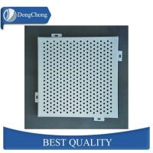 China 3004 Irregular Shape Custom Aluminum Panels Perforated Alloy Sheet With Artistic Hole factory
