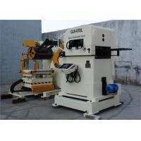 Copper / Aluminum Coil Processing Equipment , Stainless Steel Automatic Leveling Machine
