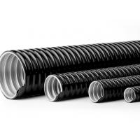 China 4 Inch PVC Coated Flexible Electrical Conduit Pipe Customizable Printing factory