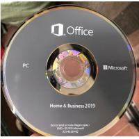Buy cheap Microsoft Office 2019 Ms Office Latest Version Home And Business HB Retail Box For Windows from Wholesalers