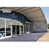 1000 People Party Tent Outdoor Event Tent With Glass Wall  20x50m Aluminum Tent