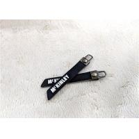 Buy cheap Nickel - Free Bag Accessory Rubber Zipper Puller Embossed Silicone Logo from wholesalers