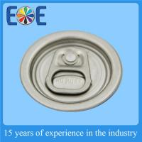 Buy cheap Safe Aluminum Easy Open Ends , 111# 39mm PET Can Easy Open Cap from Wholesalers