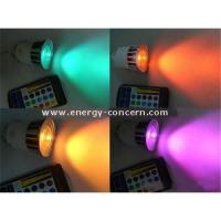 Buy cheap MR16 RGB Multi-Color Change Chase LED Light Bulb with 1 x 5W High Power LED from Wholesalers