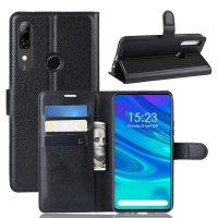 China Huawei Litchi Leather TPU Silicone Leather Flip Cases factory