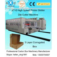 Buy cheap High Speed Automatic Carton Machine Of Printing , Dynamic Balance Machine from Wholesalers