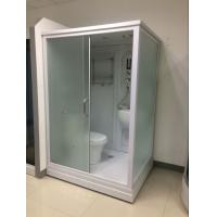 Square Complete Shower Enclosures Shower House With Washroom / Mirror / Toilet