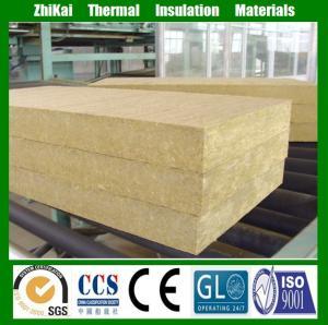 China High Strength External Wall Insulation Rock Wool Plate on sale