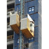 Quality High Speed Heavy Load Building Site Hoist , Temporary Construction Elevators for sale