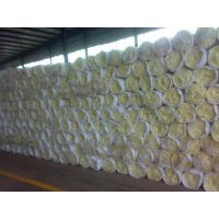 China glass wool thermal insulation blanket factory