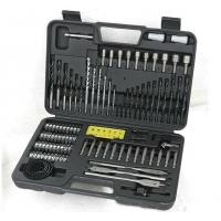 China Durable 110pcs HSS Twist Drill Bit Sets for Drilling Metal and Wood and Concrete on sale