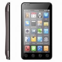Buy cheap Pure Touch Screen WCDMA GSM Dual-SIM Mobile Phones with G-sensor GPS Wi-Fi TV Camera from Wholesalers