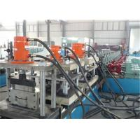 Ladder Cover Metal Stud Roll Forming Machine 1.2-2.0mm Thickness Gear Speed