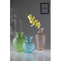 China Mouth Blow Glass Vase With  Individual Packing factory