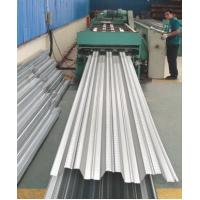 Buy cheap Galvanized Corrugated Steel Roofing Sheets / Floor Deck For Muti - Floor Buildings from wholesalers