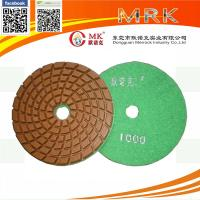 Buy cheap Flexible 4 Inch Granite Marble Diamond Polishing Pads For Floor Machine from wholesalers