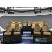 China Virtual Reality Wonder 5D Cinema System Low Energy Consumption For Museum Center factory
