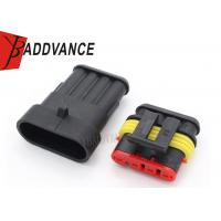 Buy cheap 4 Pin Superseal 1.5 TE Connectivity Connectors With Terminals 282106-1 282088-1 from Wholesalers