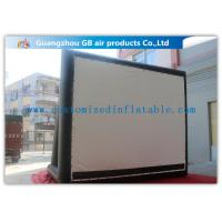Buy cheap Enjoy Outdoor Large Inflatable Movie Screen Film Screen For Party / Wedding from Wholesalers
