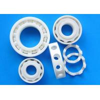 Quality Corrosion Resistance Ceramic Plain Bearings ZrO2 Material Ceramic Cage for sale