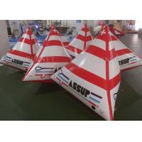China Water Triathlons Inflatable Swimming Buoy For Advertising Lightweight factory