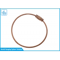 China Cable Loop Key Ring factory