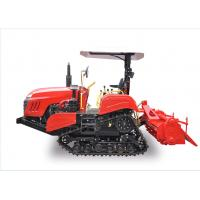 Buy cheap 350mm Rubber Track Crawler Farm Tractor With Zero Turning Radius Easy Operation from Wholesalers
