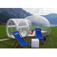 China Outdoor Single Tunnel Inflatable Bubble Tent Camping Family Stargazing For Rent factory