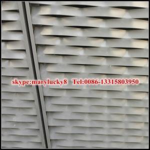 China esthetic aluminium expanded mesh wall claddings on sale