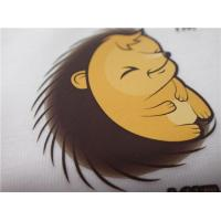 Buy cheap Cartoon Pattern Silk Screen Heat Transfer Wash Labels For Garment Or Bags from wholesalers