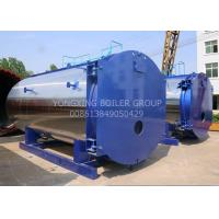 Quality WNS15ton 1.25Mpa New Design Low-nitrogen Condensing Gas Fired Steam Boiler For Industrial for sale