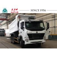 Buy cheap A7 10 Wheeler HOWO Dump Truck Super Chassis Bearing Capacity With 380 Hp Euro IV from wholesalers