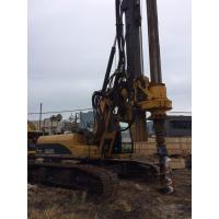 Hydraulic Rotary Pile Driving Rig For Bored Pile Foundation 43M Depth 1.3M Dia KR125C