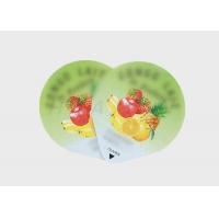 China Paper BRCS Adhesive Food Labeling Stickers for yogurt candle factory