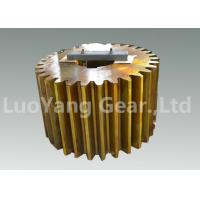 Buy cheap Custom Steel CNC Machining Gears , Cylindrical Gear For Gear Reduction Box from Wholesalers