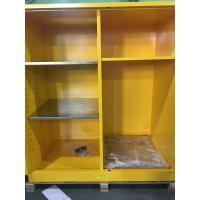 China Flammable Goods Storage Cabinets With Earthing Socket For Combustible Liquid / Paint on sale