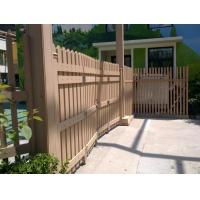 Buy cheap Custom Natural Feeling Composite Picket Fence Panels With High Impact Resistant from Wholesalers