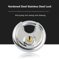 Buy cheap Large Round High Security Keyed Padlock SS 304 Made Warehouse / Garden Use from Wholesalers