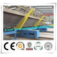 China Professional Electric H Beam Welding Line 3000mm / Min Movement Speed factory