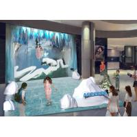China Polor Sea World Subject AR Projection Mapping For Indoor Amument Park factory