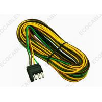 Buy cheap 4 - Way Trailer Wiring Harness For Vehicle Side Color Coded 18 Gauge Bonded Wires from Wholesalers